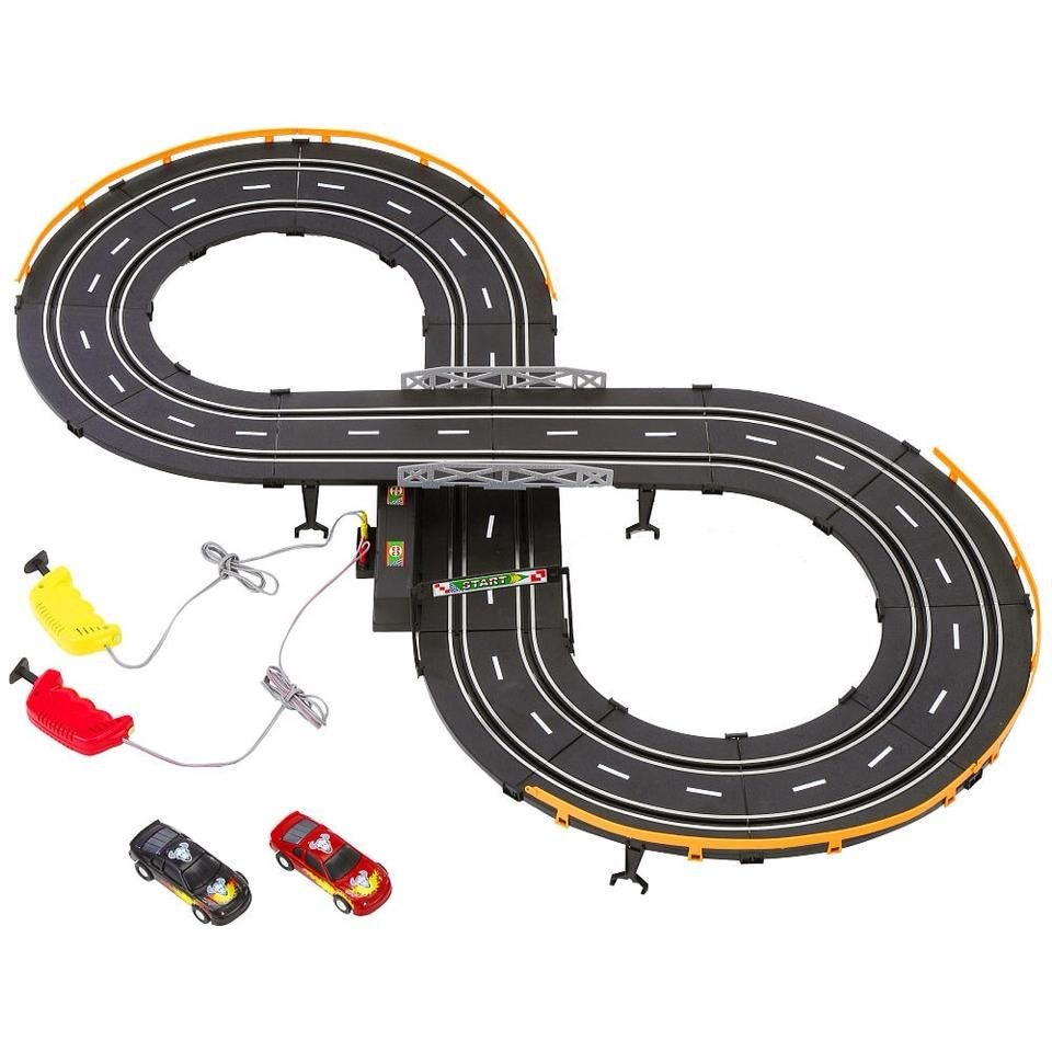 Electric slot cars that never stayed on the damn track!