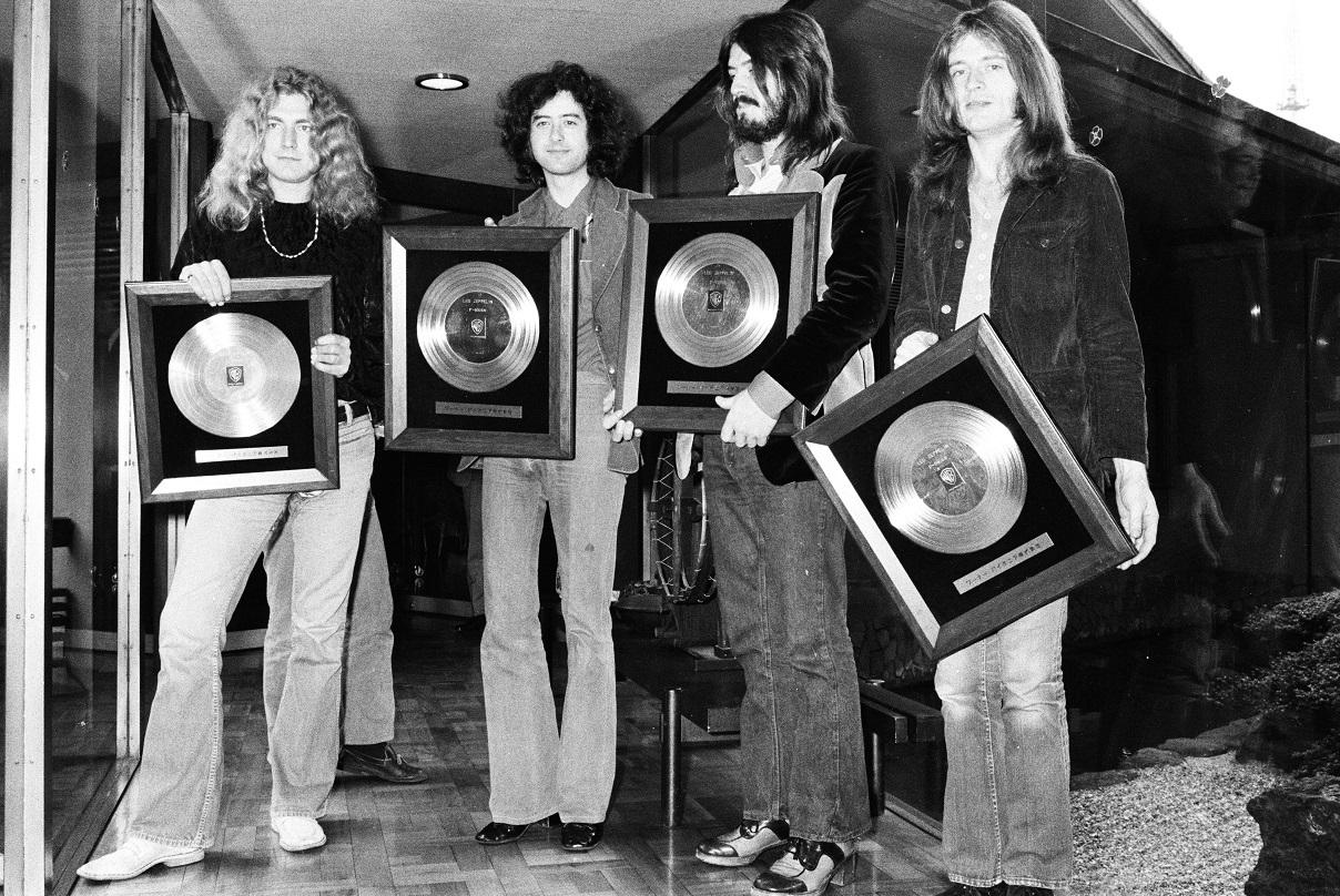 Led Zeppelin Have Earned Atlantic records more money than Ed sheeran, Bruno Mars and Cardi B combined