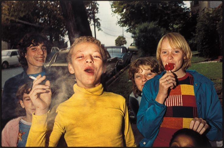 Group of Kids in 1977