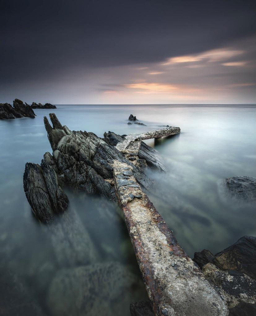 'Dawn At Stroove'. Taken in Donegal, Ireland