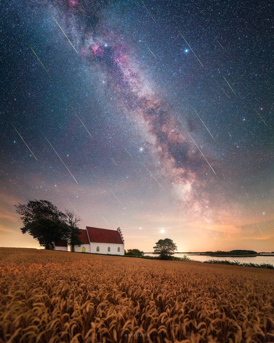 🔥 Perseid meteor shower 2020 under the dark skies of Samsø