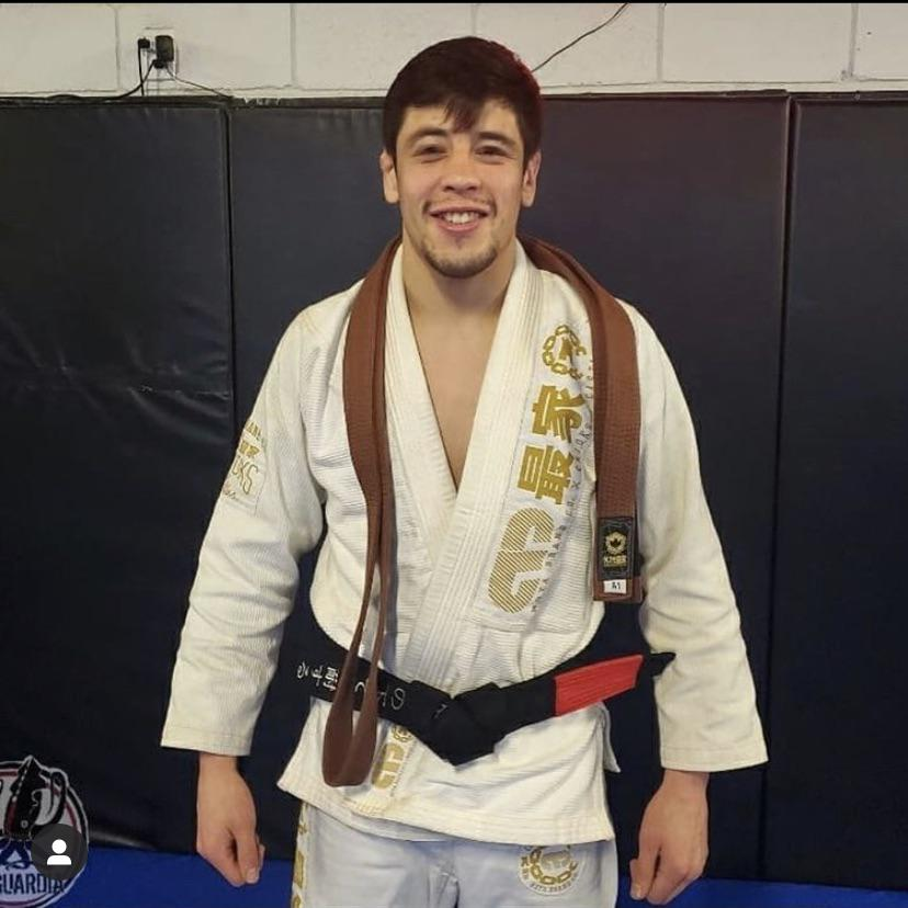 Brandon Moreno promoted to black bet in BJJ