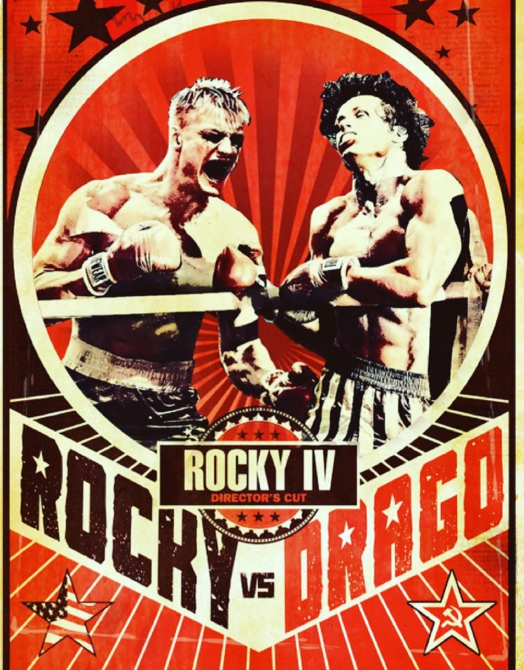Rocky IV Director's Cut poster (in theaters November 11th)