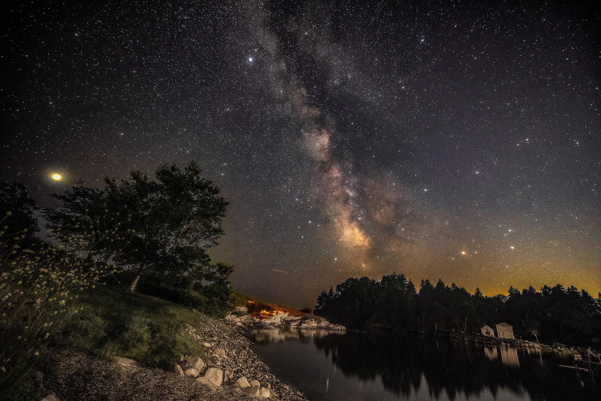 Milky Way season is a great time to drop the telescope and pick up a wide angle camera