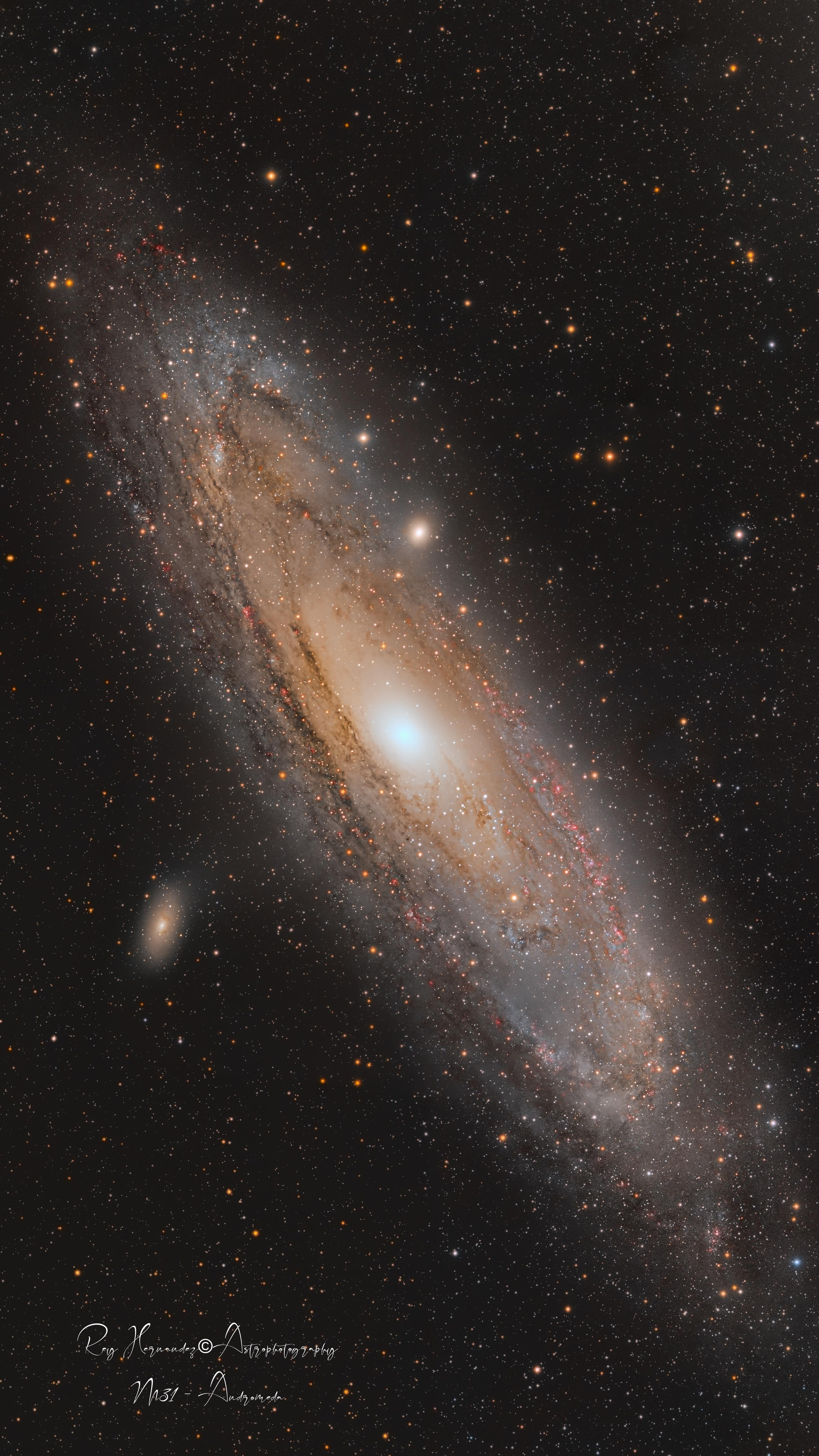 M31 Galaxy - 97Hrs Combined data