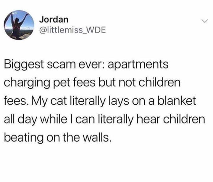 As someone who is allergic to children