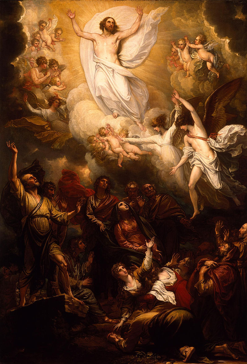 Merry feast of the Ascension