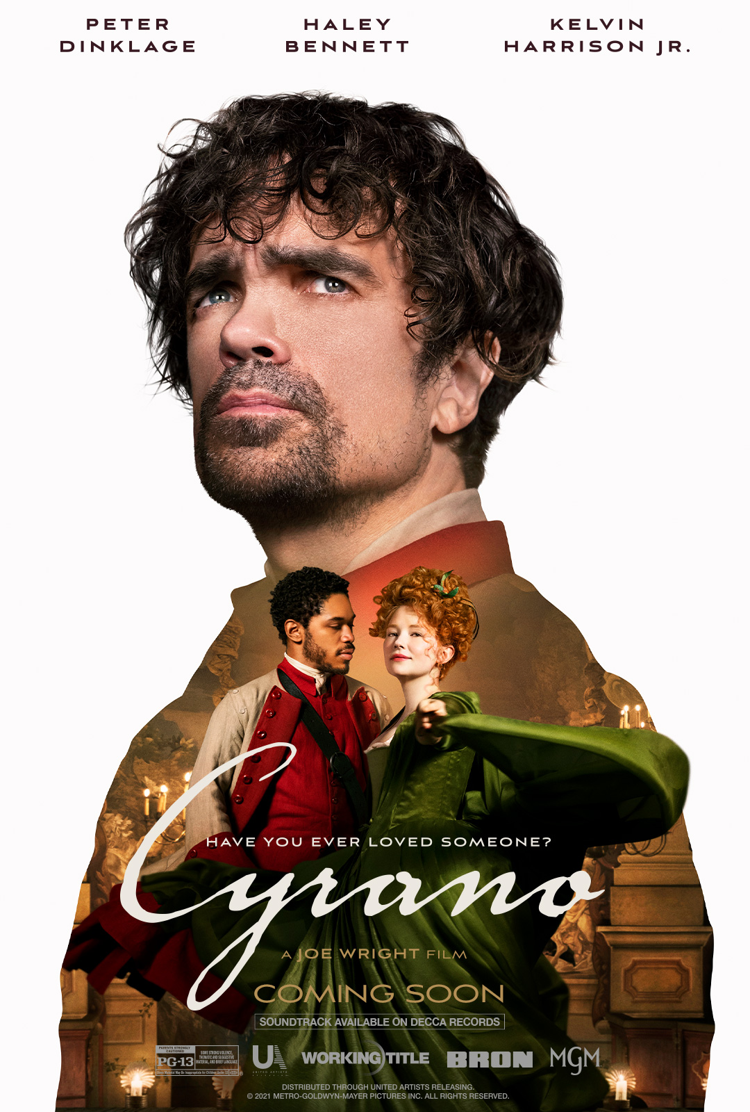 Official Poster for Joe Wright's 'CYRANO'