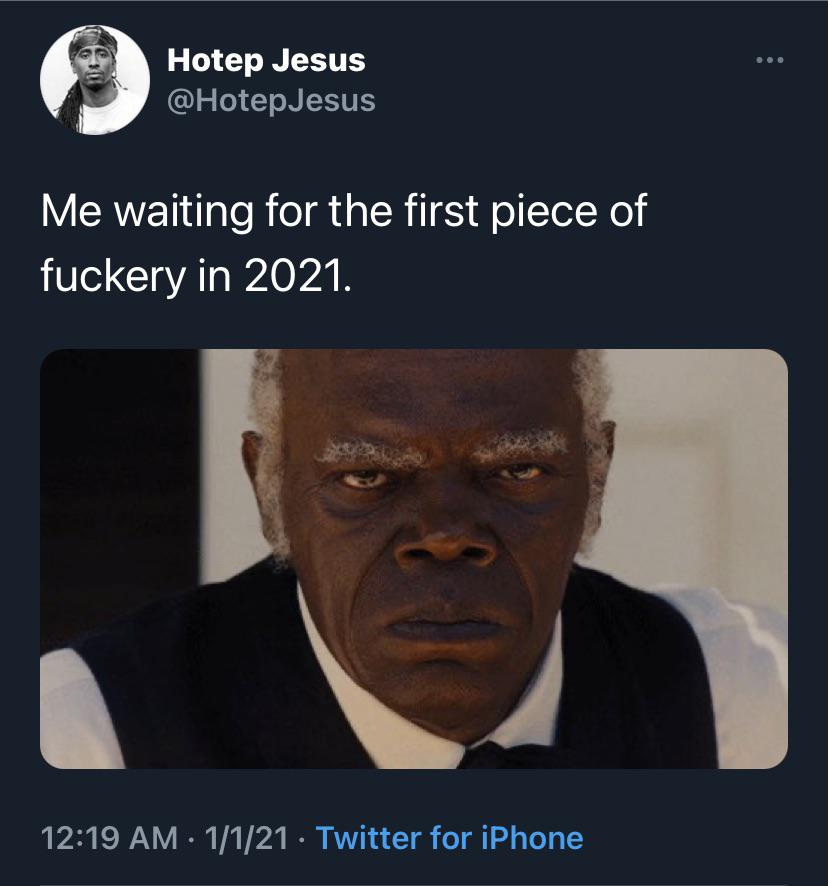Waiting for 2021