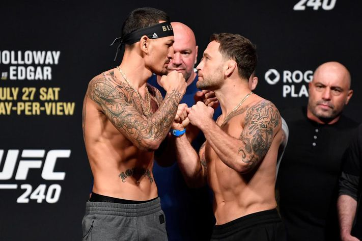 """According to billed height, Frankie Edgar (5'6"""", 1.67m) has never fought at a height advantage in the UFC, and only once was the taller man in his entire pro career"""