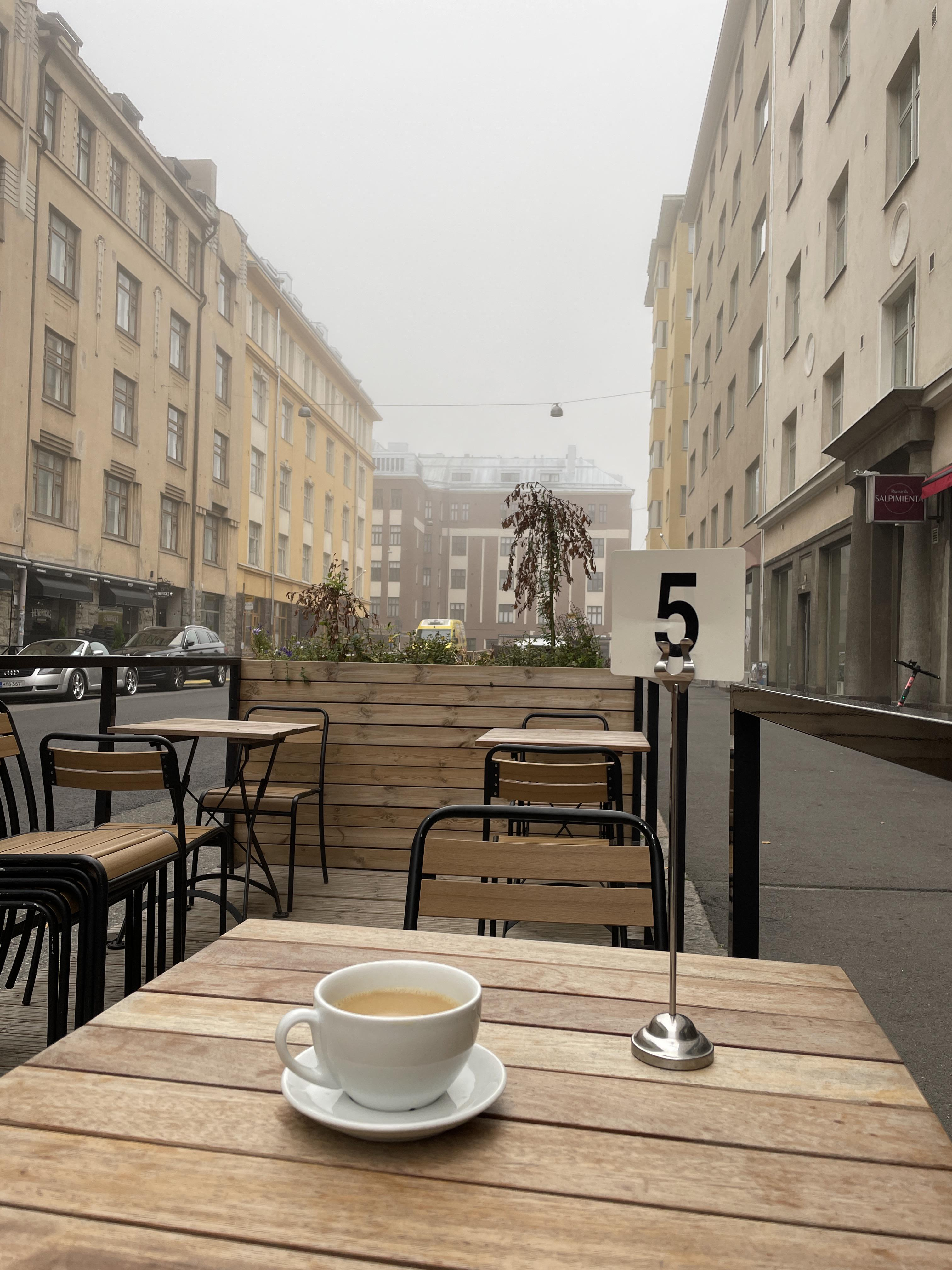 Have a nice Saturday morning from Helsinki, Finland