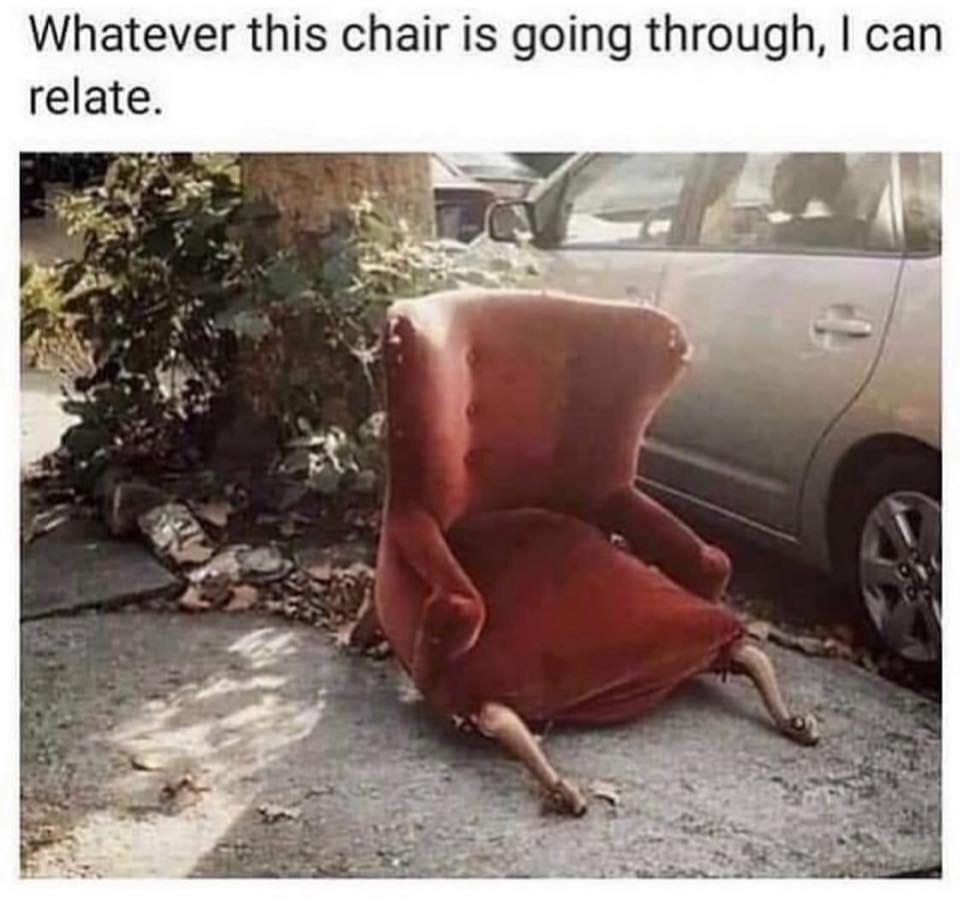 This looks like the chair Penny found