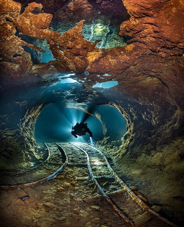 Flooded Slovakian Opal Mine