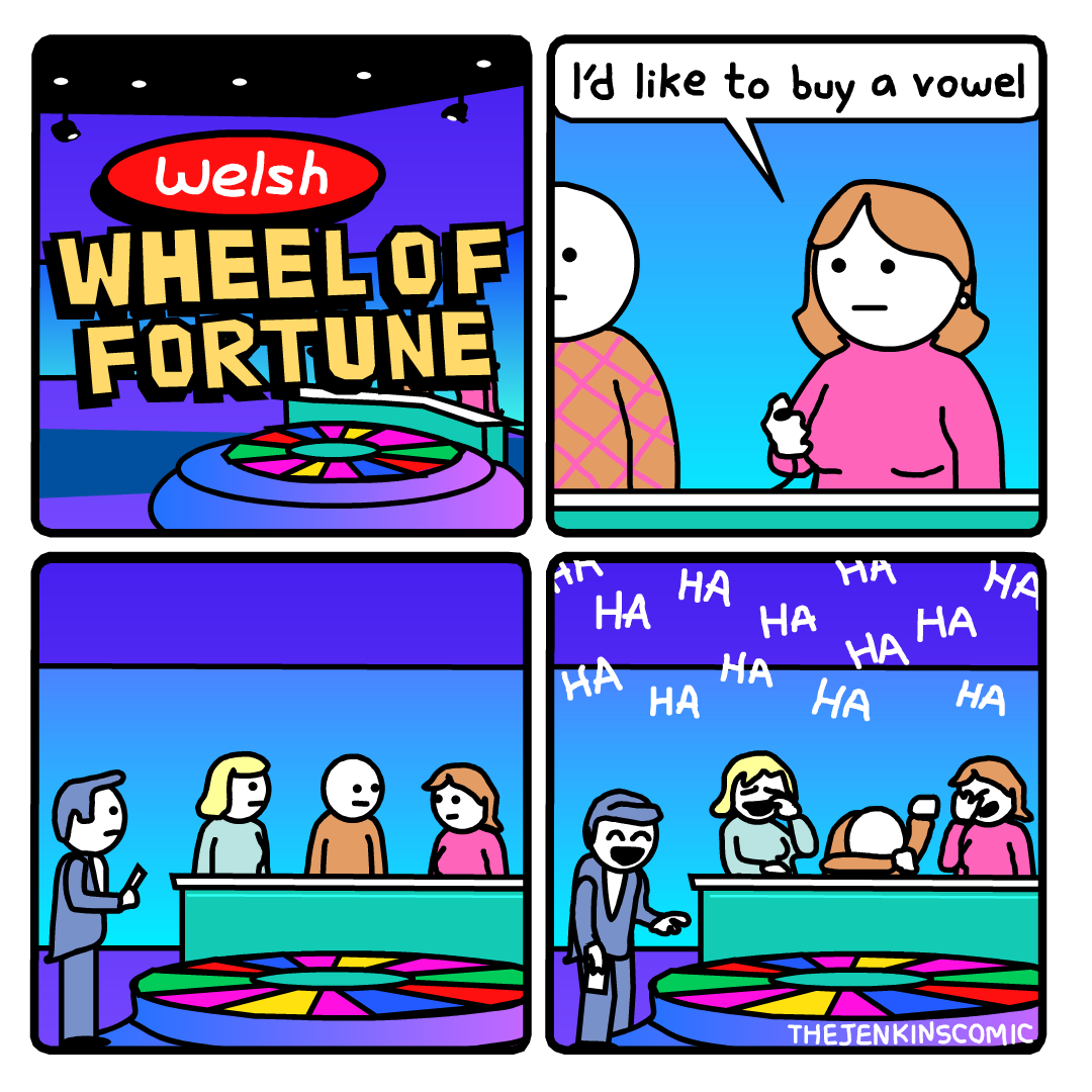 Welsh Wheel of Fortune