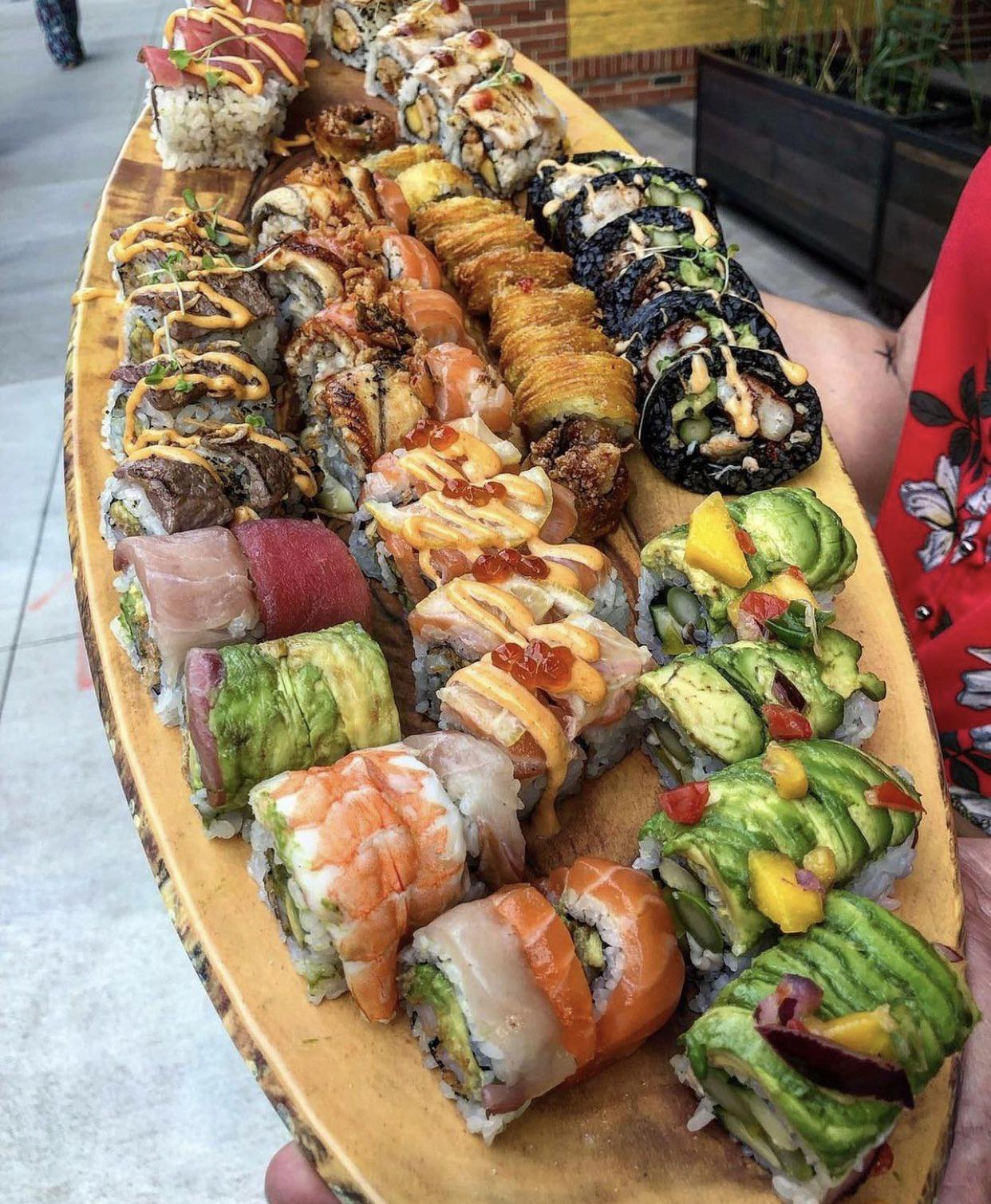 Who loves Sushi?