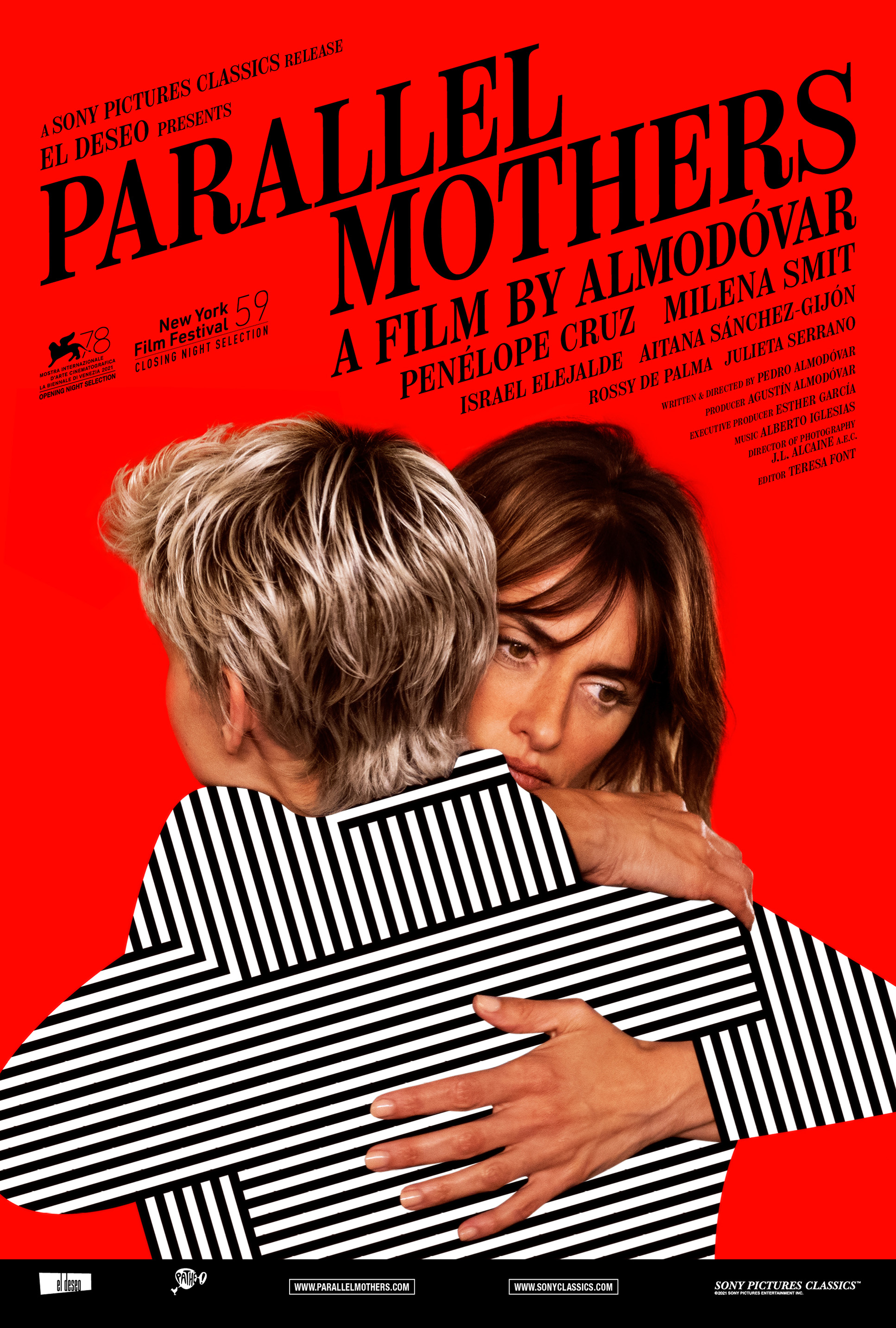 New poster for Pedro Almodóvar's 'Parallel Mothers'