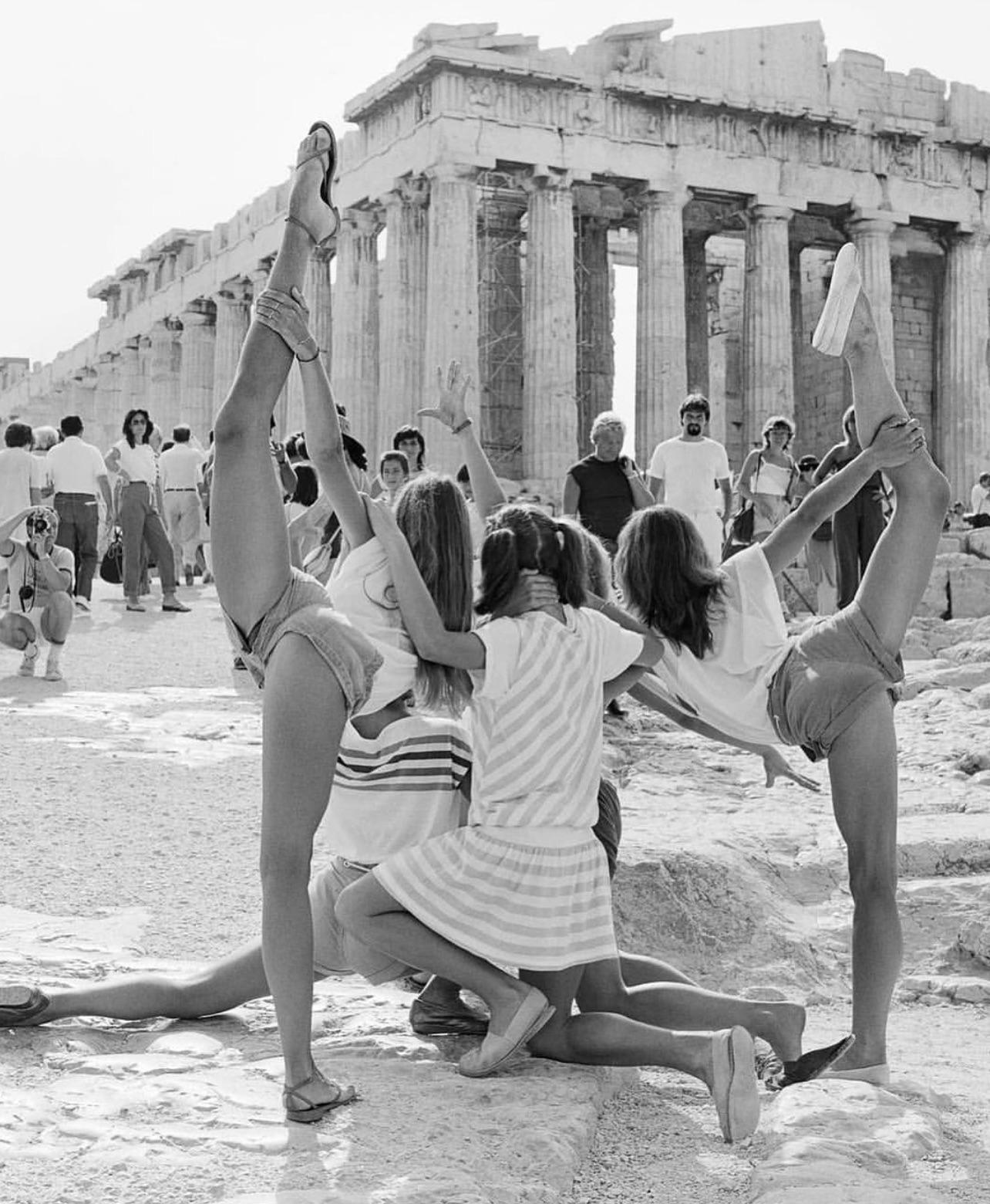 Tourists in Greece, 1983