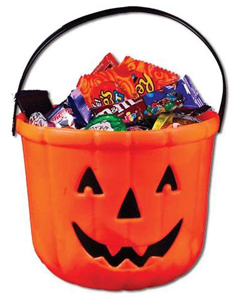 The smell from the bucket (or bag) of Halloween candy after an hour or 2 of trick or treating is just wafting back